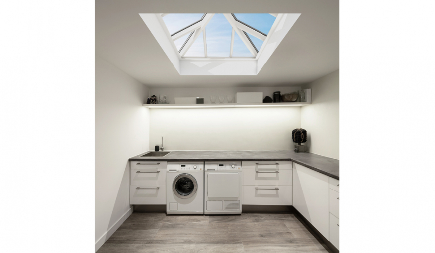 A Light And Bright Laundry Or Utility Room With Aliwood Roof Lanterns Aliwood Roof Lanterns